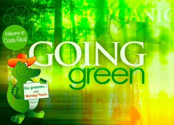 Go Greener by touring with Mardigi Tours