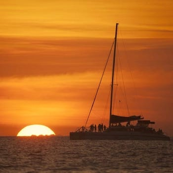 Catamaran Sunset Cruise in Guanacaste